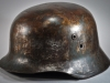 Hungarian helmet from the Word War II.